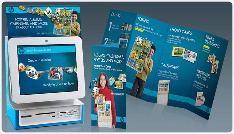 Hewlett-Packard Photo Center In-Store  Promotion