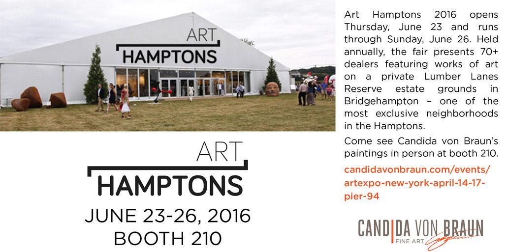 Candida von Braun Fine Art Art Hamptons Twitter Post