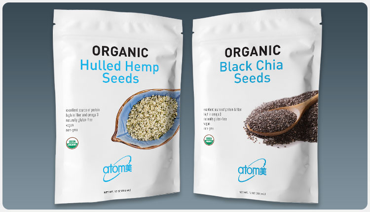 Atomy Hemp & Chia Seed Packaging