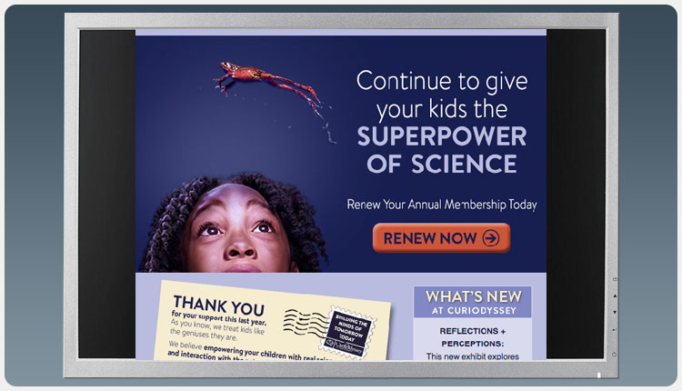 CuriOdyssey – Superpower of Science Email Blast