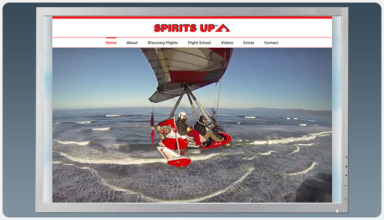 Spirits Up Home Page